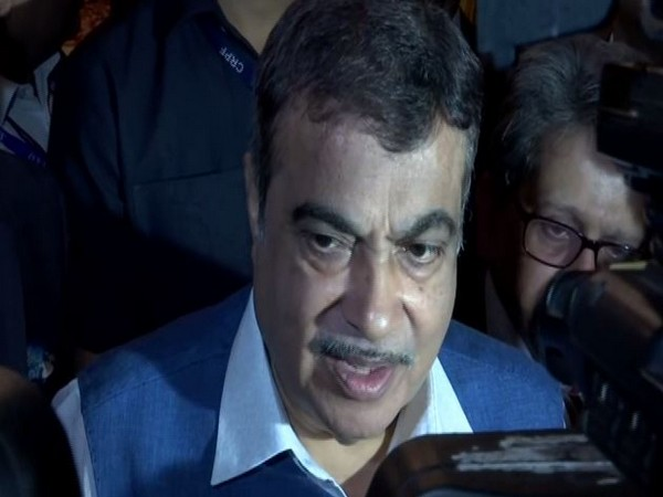 Minister of Road Transport and Highways Nitin Gadkari speaking to media persons in New Delhi on Thursday. (Photo/ANI)