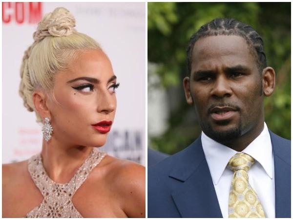 Lady Gaga and R . Kelly