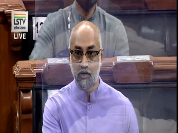 TDP MP Jayadev Galla speaking in Lok Sabha on Sunday.