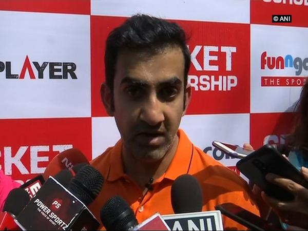 India's former cricketer Gautam Gambhir (ANI Picture)