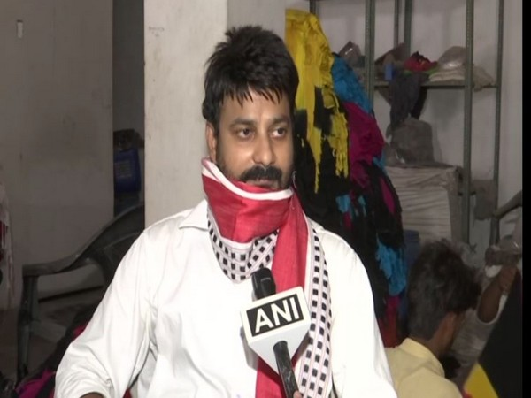 Mahaveer, an owner of e-commerce company speaking to ANI in UP on Friday. Photo/ANI