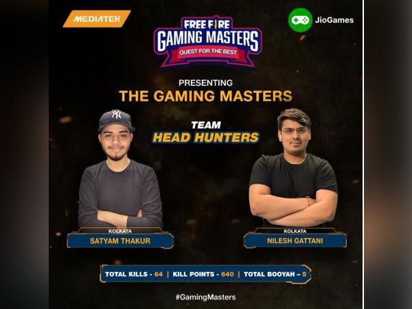 Satyam and Nilesh, Team Head Hunters