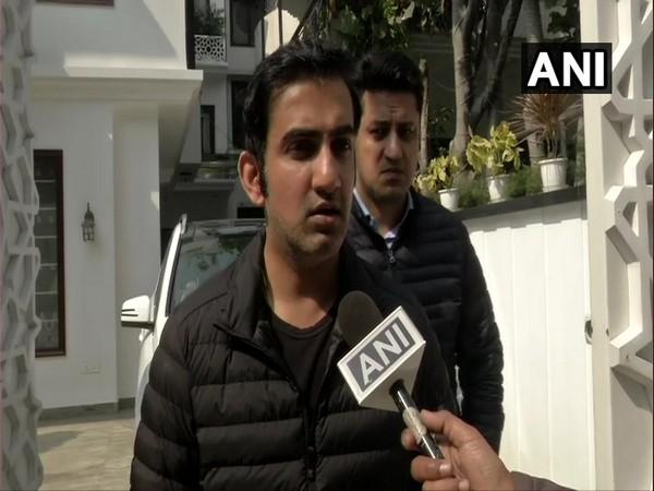 BJP MP and former cricketer Gautam Gambhir