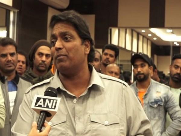 Choreographer Ganesh Acharya speaking to ANI in Mumbai on Friday. (Photo/ANI)