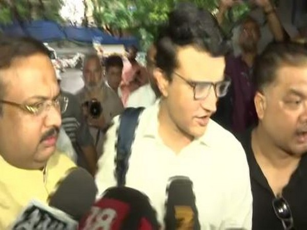 Former cricketer Sourav Ganguly arrived at the BCCI's headquarter for the AGM