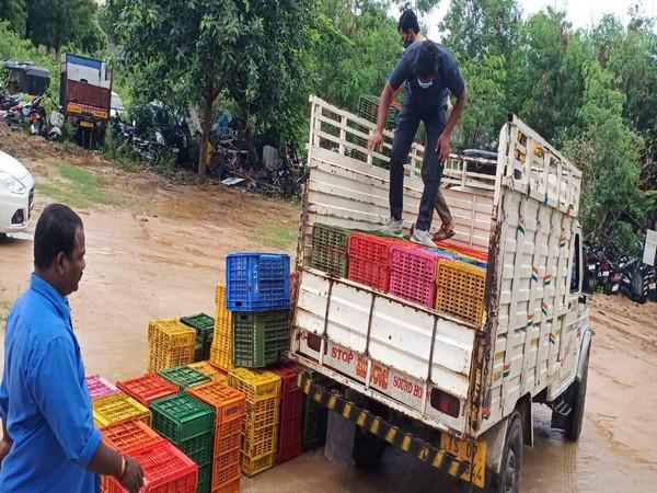 Ganja racket caught by Special Operation Team (SOT) from Bhongiri and Malkajgiri Zones, Hyderabad
