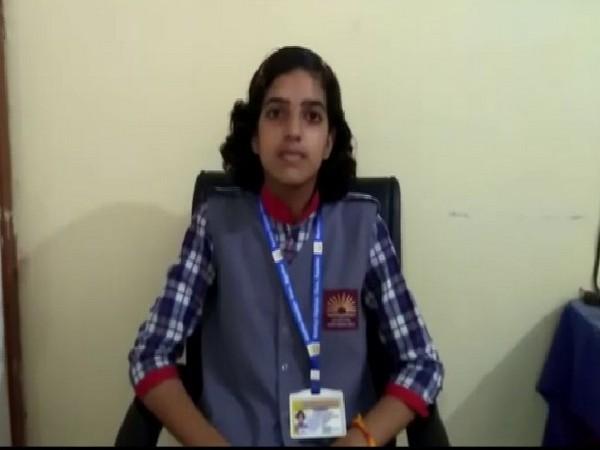 Garima Sharma while talking to ANI