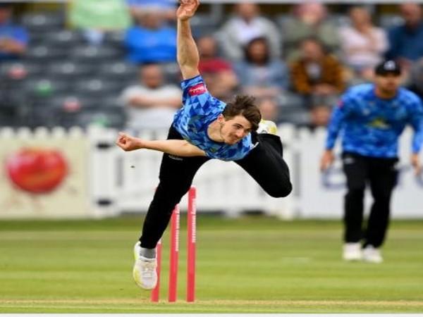 George Garton (Photo/ England Cricket Twitter)