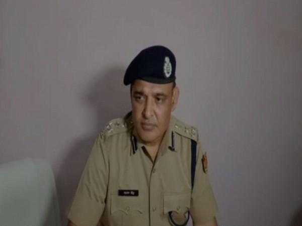 IG of Police Laxman Gaur . Photo/ANI