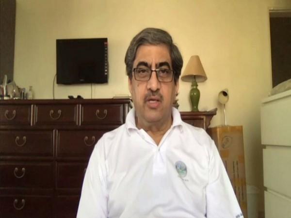 Former Indian Ambassador to China Gautam Bambawale speaking to ANI on Wednesday. Photo/ANI