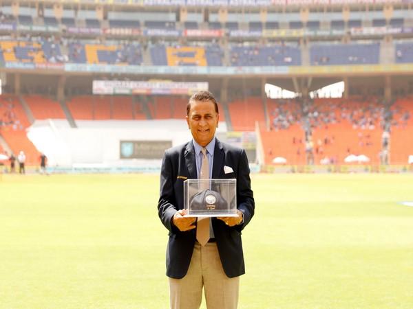 Former India skipper Sunil Gavaskar (Photo/ BCCI Twitter)