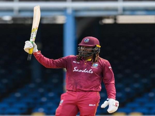 West Indies batsman Chris Gayle (Photo/ West Indies Twitter)