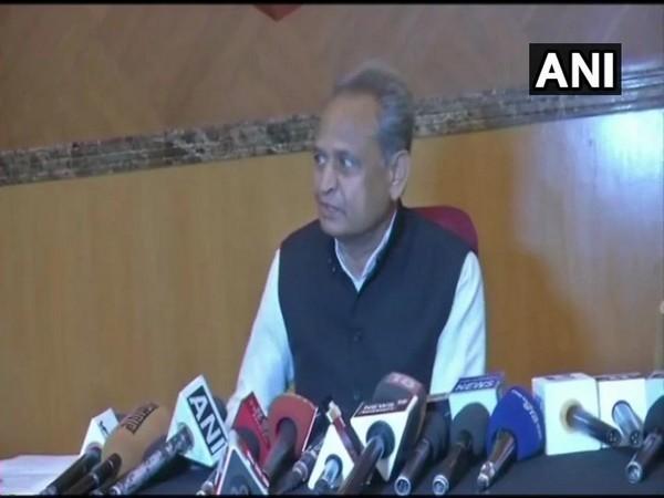 Congress leader Ashok Gehlot speaks to ANI