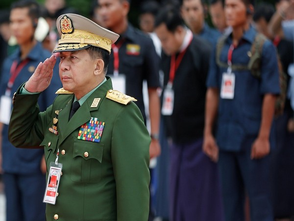 Myanmar coup leader Senior General Min Aung Hlaing (Photo Credit - Reuters)