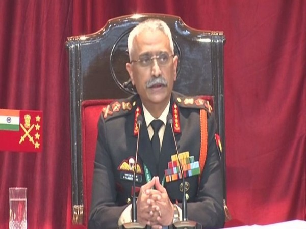 Army chief General Manoj Mukund Naravane [Photo/ANI]