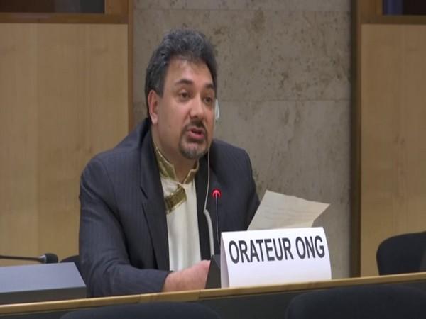 Senge H. Sering, an activist from Gilgit Baltistan