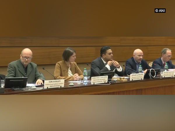 Experts speaking at conference on terrorism in Geneva
