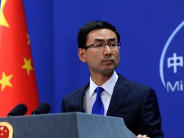 Chinese Foreign Ministry spokesman Geng Shuang (File pic)