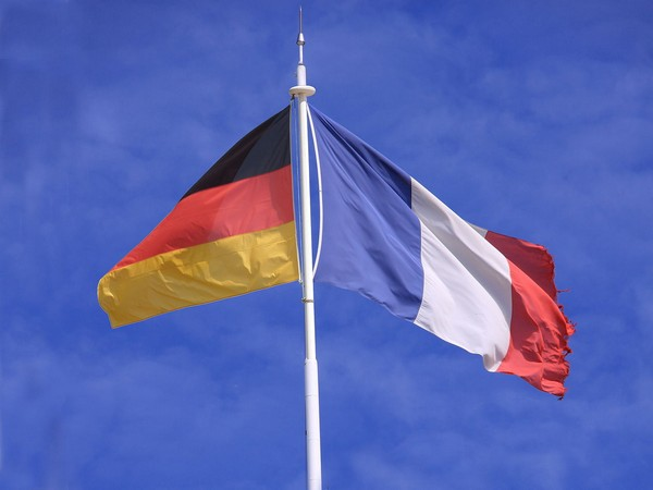 Germany and France flags