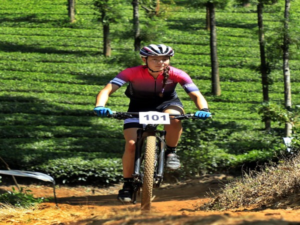 Germany's Naima Madlen Diesner finished first in the MTB Kerala 2019 on Sunday