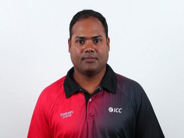 Umpire Nitin Menon (Photo/ICC)