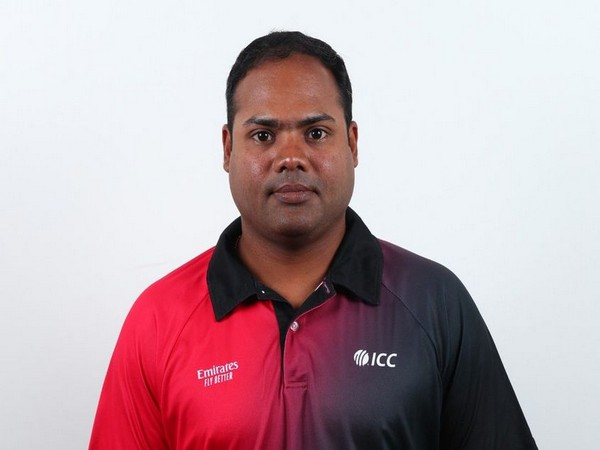 Umpire Nitin Menon (Photo/ICC)