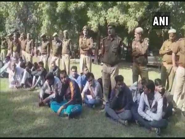 The UP Police nabbed 143 criminals in 12 hours on Sunday.