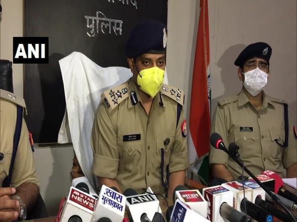 SSP Ghaziabad, Amit Pathak on Tuesday. (Photo/ANI)