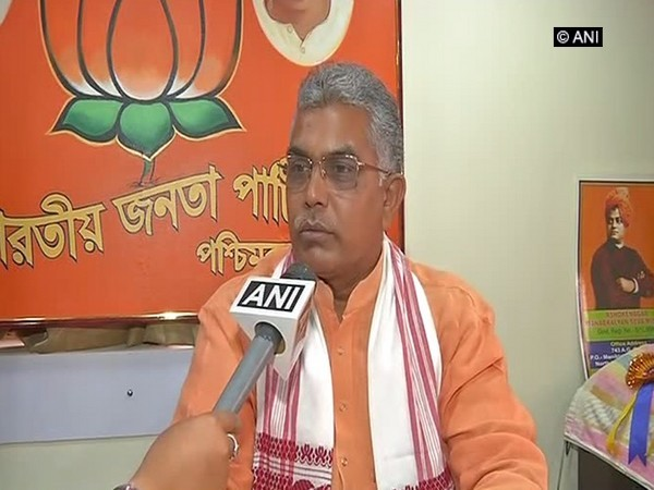 File picture of BJP state president Dilip Ghosh