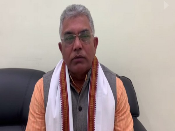 BJP West Bengal chief Dilip Ghosh (Photo/ ANI)
