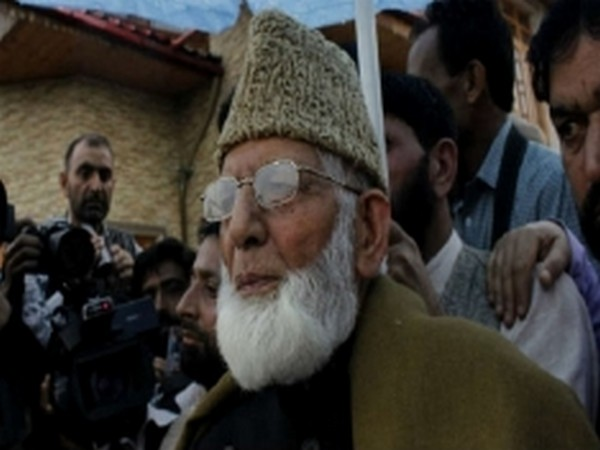 Chairman of All Parties Hurriyat Conference (APHC), Syed Ali Geelani (File Image)