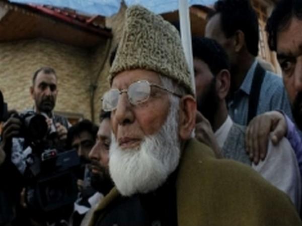 Separatist leader Syed Ali Shah Geelani (File Image)