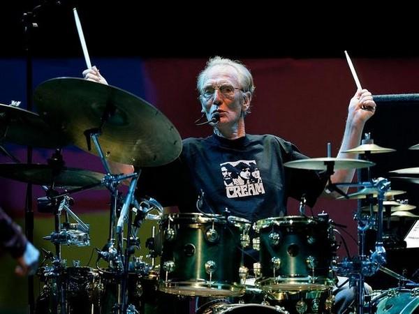 Late drummer Ginger Baker