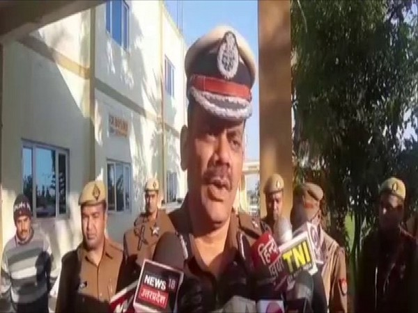 IG, Meerut, Praveen Kumar speaking to reporters in Baghpat on Friday. Photo/ANI