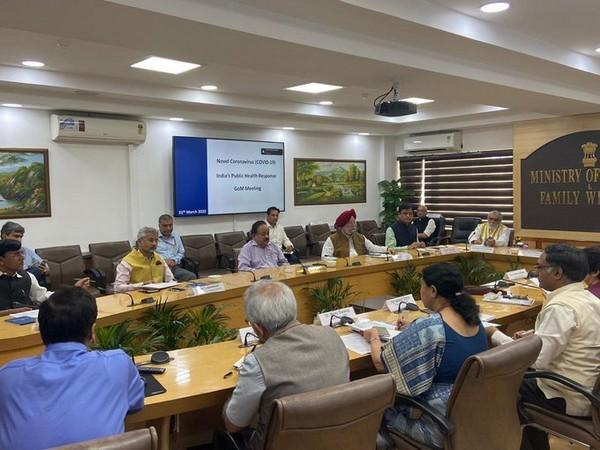 GoM discusses Nizamuddin Markaz issue in Delhi. Photo/ANI