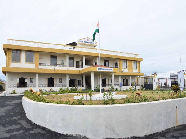 The new building of Naval Base Workshop inaugurated by Shripad Y Naik on June 1