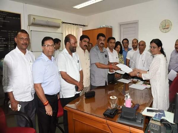 BJP fielded Rajesh Patnekar, BJP MLA from Bicholim, for the post of Goa Legislative Assembly Speaker on Monday