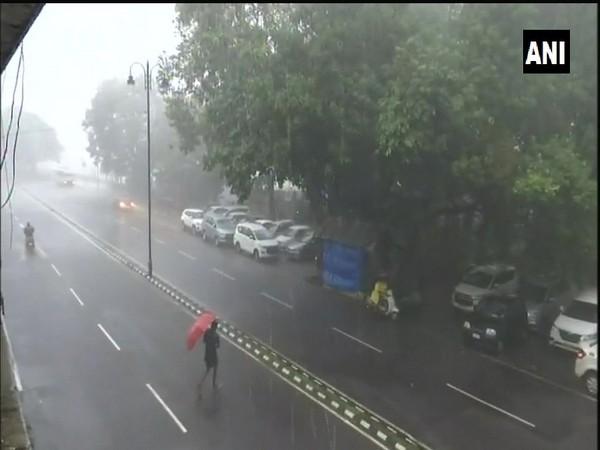 Visual of rains in Goa's Panaji (Photo/ANI)
