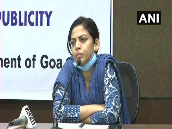 Goa Health Secretary Nila Mohanan during press conference on Friday.