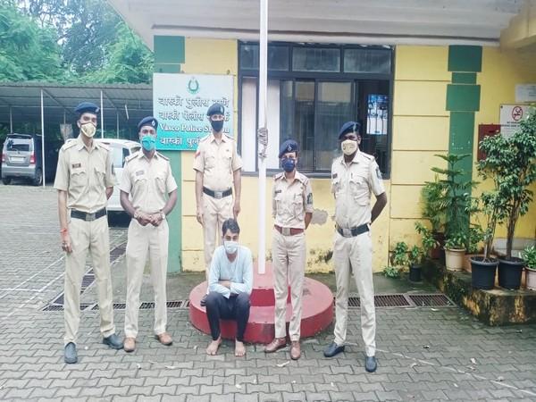 Vasco police arrested Mohd Irfan.