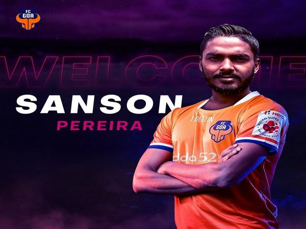 Defender Sanson Pereira (Photo/FC Goa Twitter)