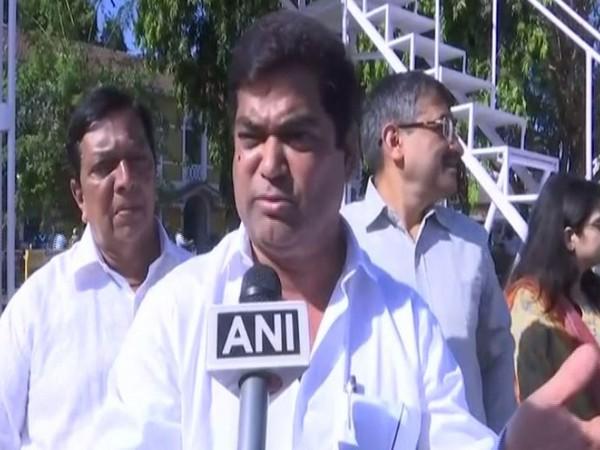 Deputy Chief Minister of Goa Chandrakant Kavlekar speaking to reporters on Thursday. Photo/ANI