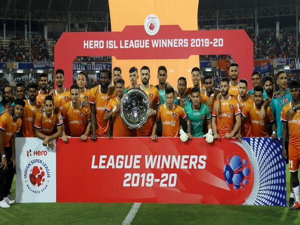 FC Goa squad from ISL 2019-20 season (Photo/ Indian Footbal Team Twitter)