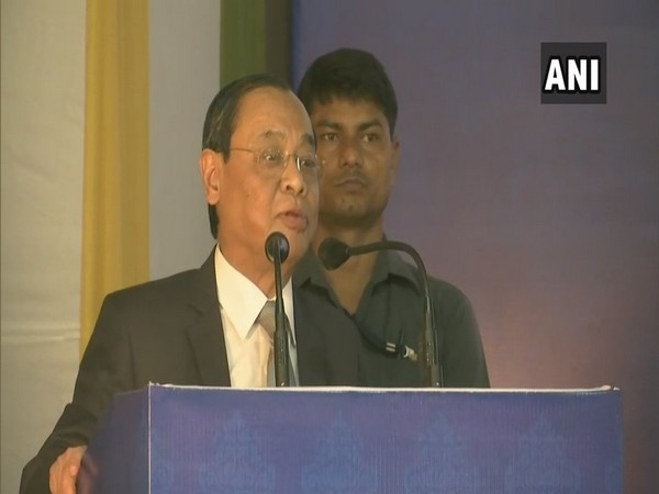 Chief Justice of India, Ranjan Gogoi speaking at an event in Guwahati on Sunday