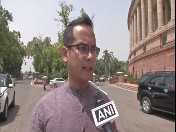 Congress leader Gaurav Gogoi speaking to ANI on Wednesday