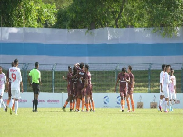 Gokulam Kerala vs Army Red match ends in draw
