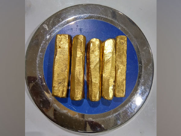 Gold bars recovered by customs at Bhubaneswar Airport