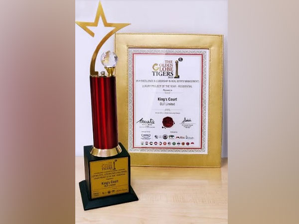 DLF bags top honours at Golden Globe Tigers Awards 2019