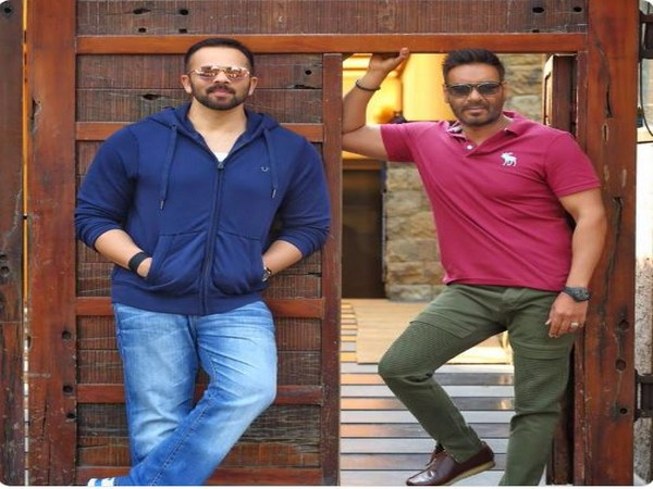 Rohit Shetty and Ajay Devgn (Image Courtesy: Twitter)