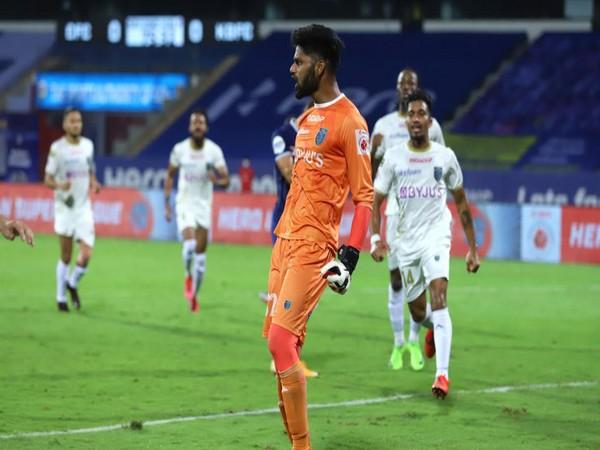 Kerala goalkeeper Albino Gomes (Photo/ ISL)